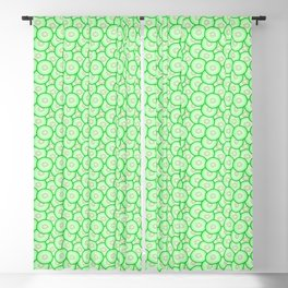Cucumber patterned Blackout Curtain