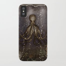 Octopus' lair - Old Photo iPhone Case
