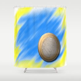 one € Shower Curtain
