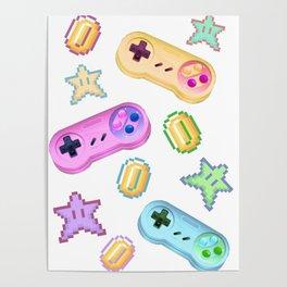 Candi Pixels Poster