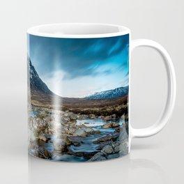 Mountain ice clouds blue Coffee Mug
