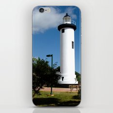 Old Lighthouse @ Rincon iPhone & iPod Skin