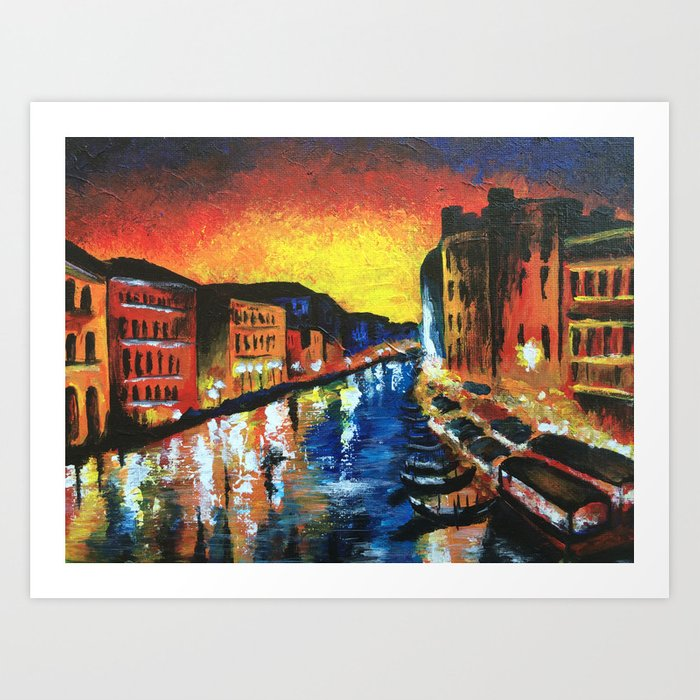 Harlem, Clearly Art Print