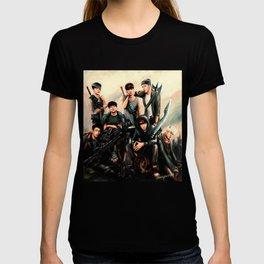 Zombie Hunter GOT7 - digital art T-shirt