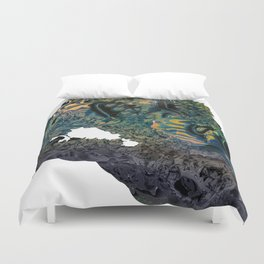 Life On Other Planets [Version 08] Duvet Cover