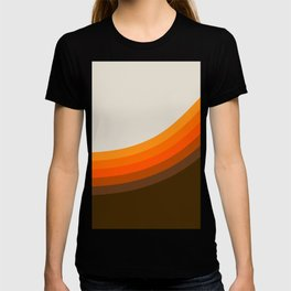 Golden Horizon Diptych - Right Side T-shirt