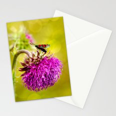 Butterfly and а thistle Stationery Cards