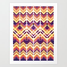 Triangles 3 Art Print