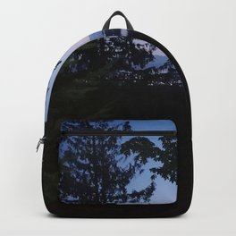 Night scene from Sechelt BC Canada Backpack