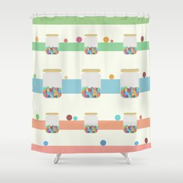 Jar of sweets Shower Curtain
