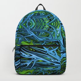 Emerald Electrigrass by Chris Sparks Backpack