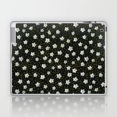 White Spring Flowers Laptop & iPad Skin