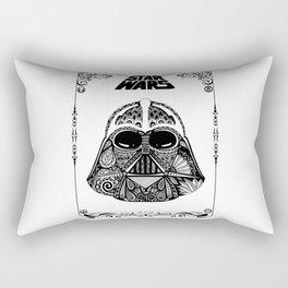 Dark Vador (with frame) Rectangular Pillow