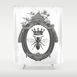 Queen Bee Shower Curtain