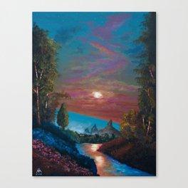 The Last Twilight Canvas Print
