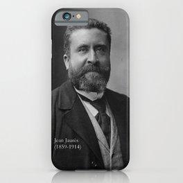 Portrait of Jean Jaurès By Nadar iPhone Case