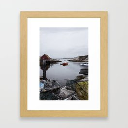 Peggy's Cove, NS Framed Art Print