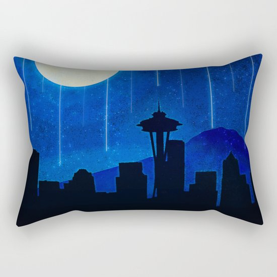 Sleepless Seattle Rectangular Pillow