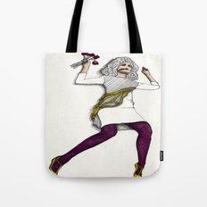 Fashion Illustration - Patterns and Prints - Part 5 Tote Bag