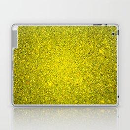 Beryl Yellow Sparkling Jewels Pattern Laptop & iPad Skin