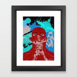 Dr Manhattan Framed Art Print