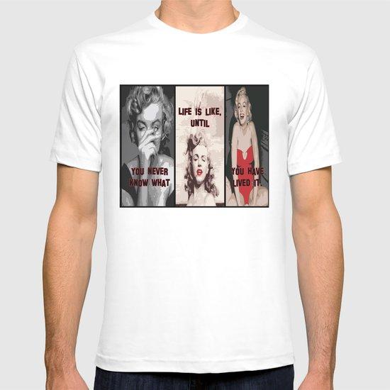 A Tribute to Marilyn Monroe T-shirt
