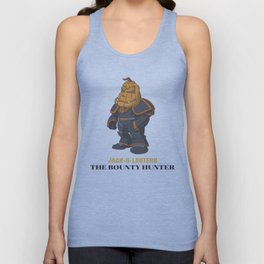 JACK-O-LANTERN The Bounty Hunter Unisex Tank Top