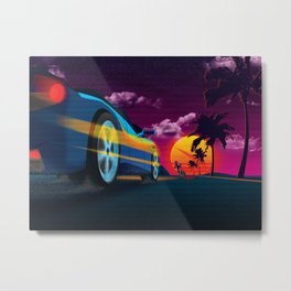 The Pursuit Metal Print