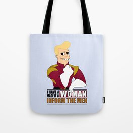 I have made it with a Woman Tote Bag