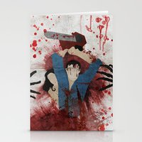 evil Stationery Cards featuring Evil by Spectacle Photo