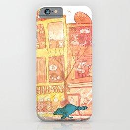 City Raccoon 02 iPhone Case