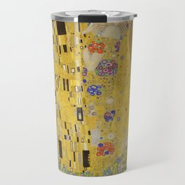 The Kiss by Gustav Klimt Travel Mug