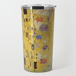 The Kiss by Gustav Klimt Travel Mug