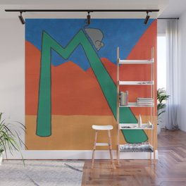 M is for Mouse Wall Mural