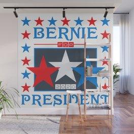 Bernie for President 2020 Stars Wall Mural