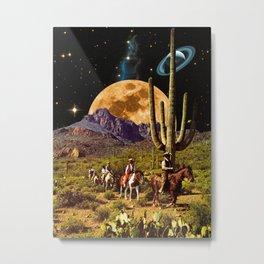 Space Cowboys Metal Print