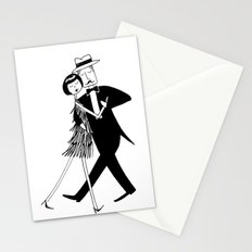 eloise swept him off his feet Stationery Cards