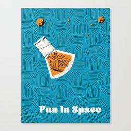 Fun in Space Canvas Print