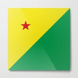 flag of Acre Metal Print