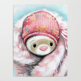 Winter Princess Poster