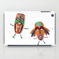 africa iPad Cases featuring AFRICA by Rceeh