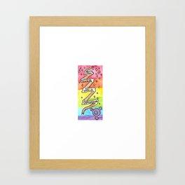 Pro-Queer World Domination Framed Art Print