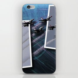 USAF Thunderbirds iPhone Skin