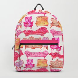 Victorian Lounge – Pink Palette Backpack