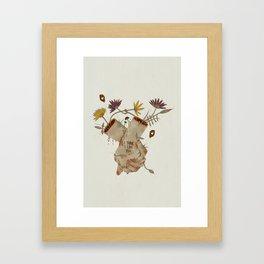 I think I like you... Framed Art Print