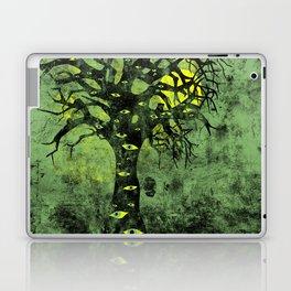 the Vision Tree (green) Laptop & iPad Skin