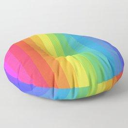 Solid Rainbow Floor Pillow