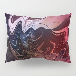Anger management - An abstract mood illustration Pillow Sham