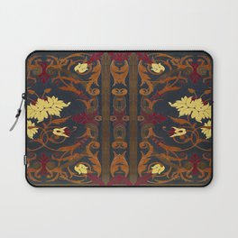 Victorian Vines Book Laptop Sleeve