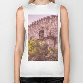 Palm Tree Summer - The Alamo Biker Tank